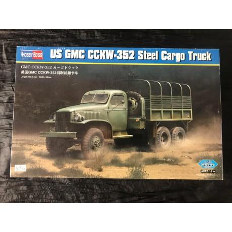 Maquette HOBBY BOSS - US GMC CCKW-352 STEEL CARGO TRUCK- REF : jap hobby 83 831 - ech 1/35