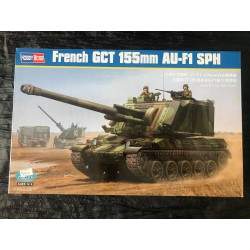 Maquette HOBBY BOSS - FRENCH GCT 155mm AU-F1 SPH- REF : jap hobby 83 834 - ech 1/35