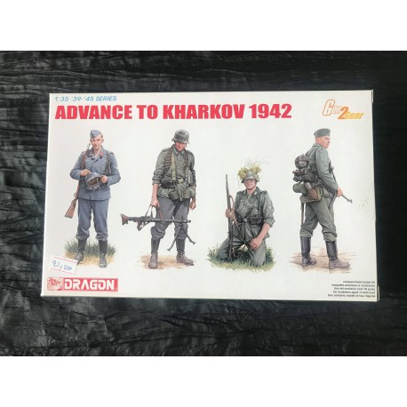 Maquette DRAGON - ADVANCE TO KHARKOV 1942 - REF : jap drag 6656 - ech 1/35
