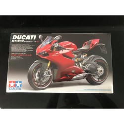 MAQUETTE TAMIYA - DUCATI 1199 PANIGALE S - REF JAP TAM 14129 - ECH 1/12