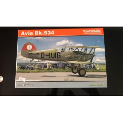 MAQUETTE EDUARD - AVIA BK 534 -PROFIPACK - REF EDU 70105 - ECH 1/72