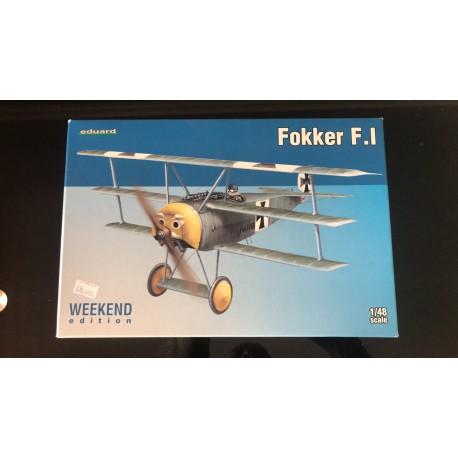 MAQUETTE EDUARD - FOKKER F I -WEEKEND - REF EDU 8493 - ECH 1/48