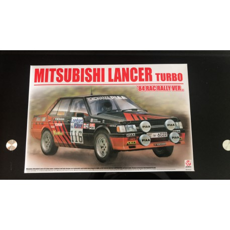 MAQUETTE BEEMAX - MITSUBISHI LANCER TURBO 1984 RAC VERSION RALLYE REF B24022 - ECH 1/24