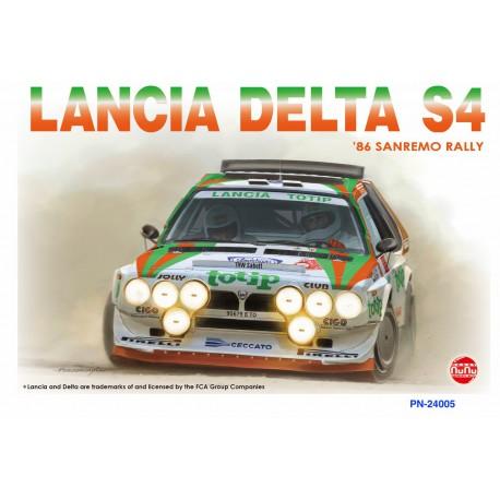MAQUETTE NU NU - Lancia Delta S4 Totip San Remo 1986 - REF NU-24005 - ECH 1/24