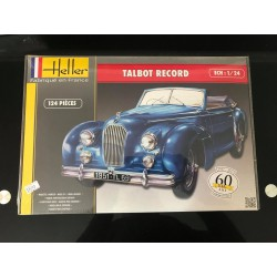 MAQUETTE HELLER - TALBOT RECORD - REF JAP HEL 80711 - ECH 1/24