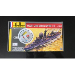 Maquette Heller - FREGATE LANCE MISSILES SUFFREN - REF jap hell 49 033 - ech 1/200