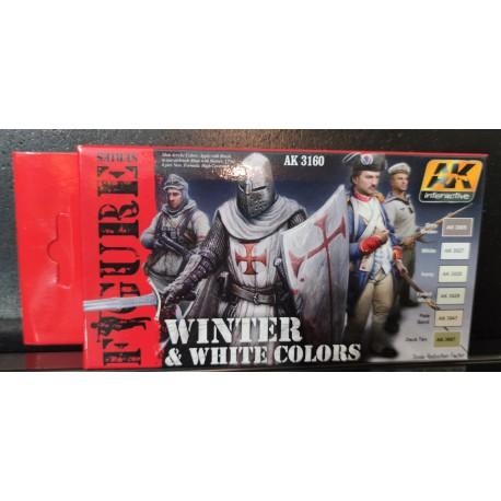 PEINTURE AK - Winter & White Colors