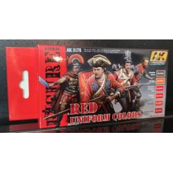 PEINTURE AK - Red Uniform Colors - AK 3170