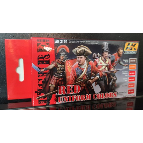 PEINTURE AK - Red Uniform Colors