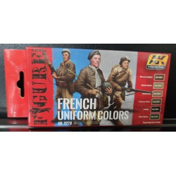 PEINTURE AK - French Uniform Colors