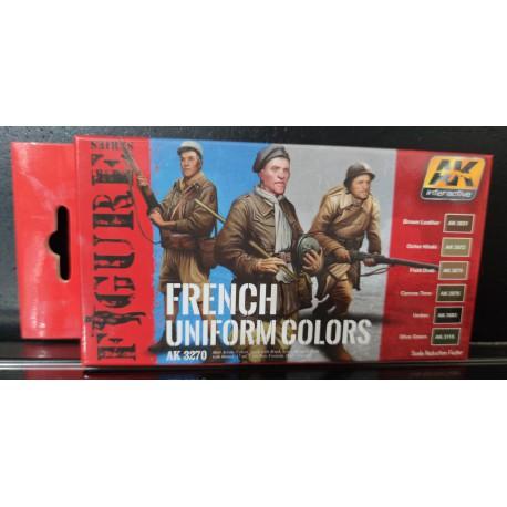 PEINTURE AK - French Uniform Colors