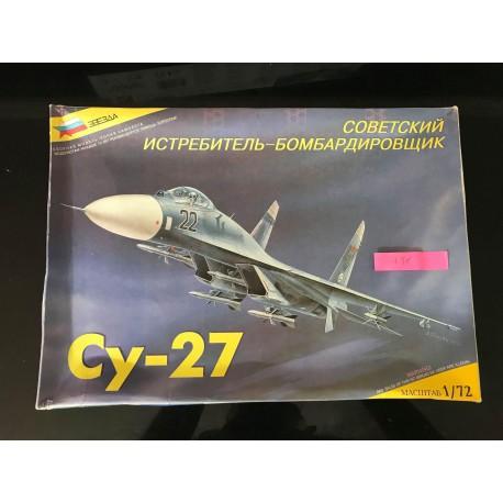 MAQUETTE OCCASION - ZVEZDA - CY-27 - ECH 1/72