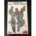 FIGURINES - MINIART - US TANK CREW - REF MIN 35126 - ECH 1/35