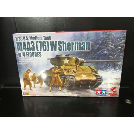 MAQUETTE AZUKA - US M4A3- 76- REF JAP AZUKA 35048 - ECH 1/35
