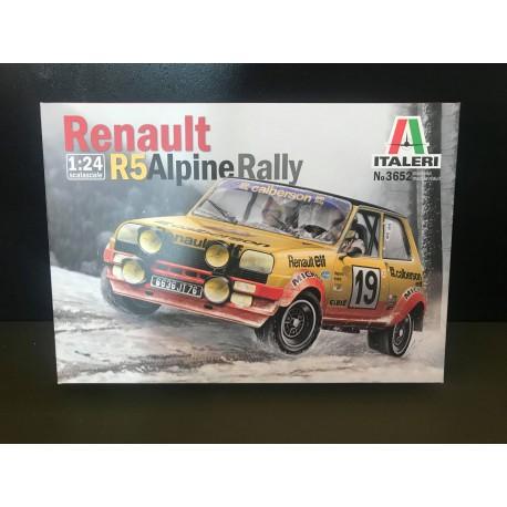 MAQUETTE ITALERI - RENAULT 5 ALPINE RALLY - REF JAP ITA 3652 - ECH 1/24