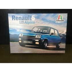 MAQUETTE ITALERI - RENAULT 5 ALPINE - REF JAP ITA 3651 - ECH 1/24