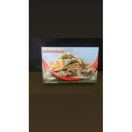 MAQUETTE HOBBY MIRAGE - M3 GRANT MK1 - REF JAP HM 728008 - ECH 1/72