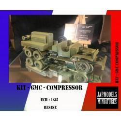 MAQUETTE JAPMODELS - GMC COMPRESSOR - KIT - REF JAP GMC COMPRESSOR - ECH 1/35