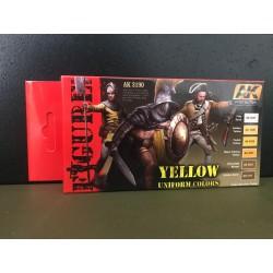 PEINTURE AK - Yellow uniform colors