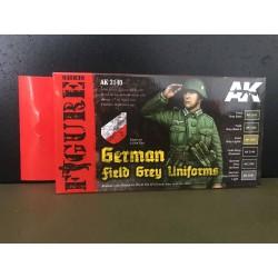 PEINTURE AK - German field grey uniforms