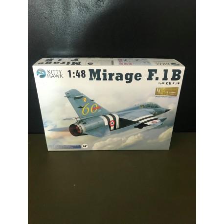 MAQUETTE KITTY HAWK - MIRAGE F 1B ESCADRILLE 3/33 LORRAINE - REF JAP KHM80112 - ECH 1/48
