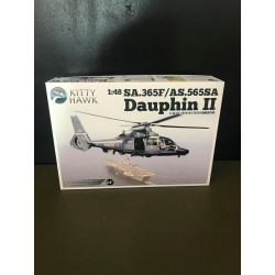 MAQUETTE KITTY HAWK - SA 365F .1 DAUPHIN II MARINE NATIONALE - REF JAP KHM80108 - ECH 1/48