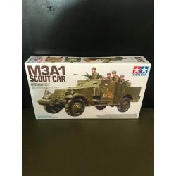 MAQUETTE TAMIYA - SCOUT CAR M3A1 - REF JAP TAM 35363 - ECH 1/35