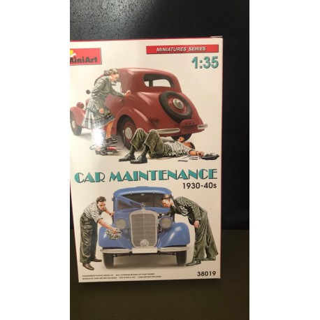 MAQUETTE MINIART- AUTO TRAVELLERS - REF JAP MINI 38017- ECH 1/35