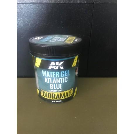 DIORAMA SERIES AK - WATER GEL ATLANTIC BLUE - AK 8003