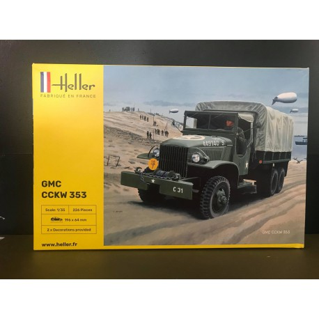 Maquette - Heller - GMC CCKW 353 - Echelle 1/35