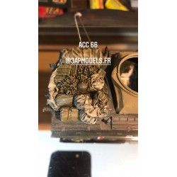 MAQUETTE JAPMODELS - ACC 66 CHARGEMENT M8 / M20 - REF JAP ACC 66 - ECH 1/35