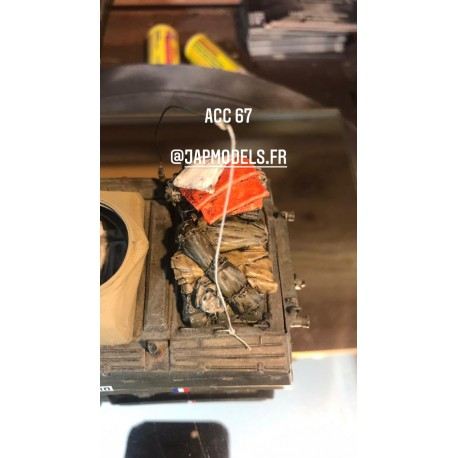 MAQUETTE JAPMODELS - ACC 67 CHARGEMENT M8 / M20 - REF JAP ACC 67 - ECH 1/35