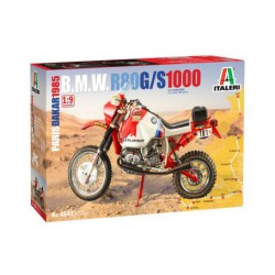 MAQUETTE ITALERI - BMW R80G/S Paris Dakar 1985- REF JAP ITAL 4641 - ECH 1/9