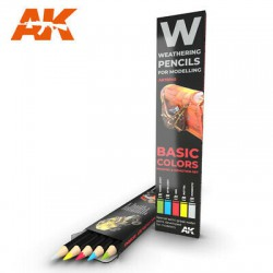 PENCILS SET - AK10045 - BASIC COLORS & SHADING DEMOTION