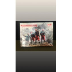 MAQUETTE ICM - FRENCH ZOUAVES - 1914 - REF JAP ICM 35709 - ECH 1/35