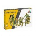 MAQUETTE ITALERI - FIGURINES PARTISANS - REF JAP ITAL6556 - ECH 1/35
