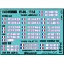 Décals INDOCHINE - JapModels - INDOCHINE 1946 1954 - Echelle 1/35