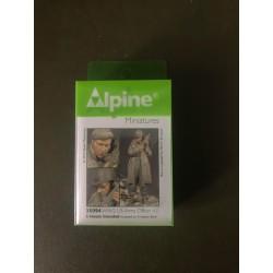 MAQUETTE ALPINE MINIATURE - US ARMY OFFICIER - REF JAP ALP35094 - ECH 1/35