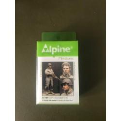 MAQUETTE ALPINE MINIATURE - US INFANTRY - REF JAP ALP35109 - ECH 1/35
