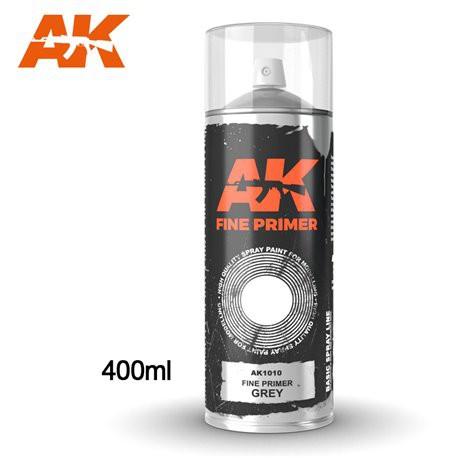 SPRAY AK - PRIMER GREY - REF JAP AK1010 - 400ML -