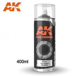SPRAY AK - PRIMER BLACK - REF JAP AK1009 - 400ML -