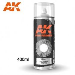 SPRAY AK - PRIMER WHITE - REF JAP AK1011 - 400ML -
