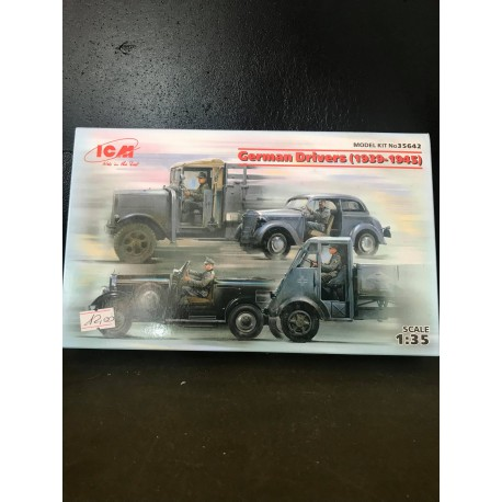 German Drivers 1939-1945 4 figures 1/35