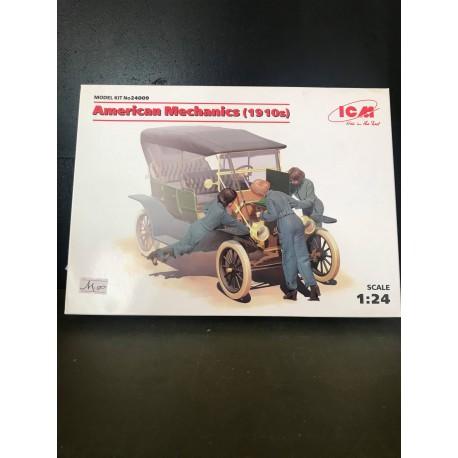 American mechanics 1910s 3 figures 1/24