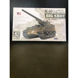 M40 BIG SHOT US CANON DE 155MM AUTOMOTEUR