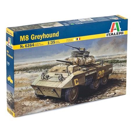 M-8 GREYHOUND - LIGHT ARMOURED CAR - 364 OU 6364 - 1/35