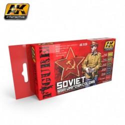 PEINTURE AK- Soviet Uniform Colors