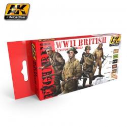 PEINTURE AK- British Uniform Colors