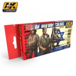 PEINTURE AK- IDF Uniform Colors