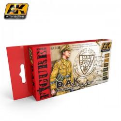 PEINTURE AK- A-K- Soldier Uniform Colors